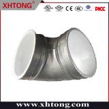 FM/UL/Ce aprobada galvanizado hierro dúctil Codo de 90 grados para el sistema de seguridad contra incendios