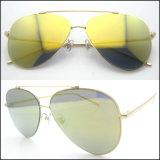 2017 новой моды металла из нержавеющей солнечные очки с поляризованными объектив наружного зеркала заднего вида