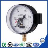 Manomètre de pression de contact électrique avec prix d'usine