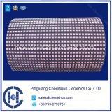 Fodera quadrata di ceramica delle mattonelle dell'allumina per il rivestimento isolante della puleggia di estrazione mineraria