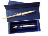 Scatola di presentazione di plastica impaccante dell'imballaggio della casella della penna della visualizzazione del documento della casella della penna del regalo della matita di legno (Ys12)