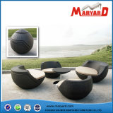 DIY Outdoor Furniture Folding Deck Chair Round Egg Compact Garden Ball Furniture