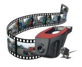 レコーダーを運転する二重レンズのレコーダー車のカメラ完全なHD 1080P