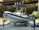 Aqualand 17,5 футов 5.4m стекловолоконные каркасных надувных патруль/ребра плавание на автобусе катере (ребра540A)