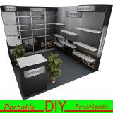 3X3 알루미늄 물자 표준 휴대용 전람 부스 진열대