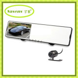 4.3 인치 HD 1080P Dual Rearview Mirrow Car DVR