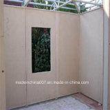 클래딩, Soffit, 안대기, 도와 밑받침, 분할로 이용되는 섬유 시멘트 널