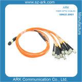 MPO Cable de fibra óptica para la transmisión de datos