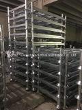 Crémaillère en acier galvanisée à chaud élevée de 4 palettes de Stackability