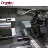 완료 좋은 CNC 금속 2500rpm 스핀들 속도 Ck6132A를 가진 자동적인 포탑 선반을 반반하게 하십시오