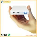 Projecteur intelligent de connexion sans fil portative tenue dans la main d'écran