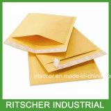 El envío de los sobres Kraft completado burbuja envuelve sobres de la burbuja de Kraft