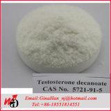 Testosterona esteroide Deca Decanoate del polvo del crecimiento del músculo del grado del GMP