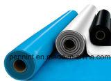Feuille imperméable à l'eau de PVC de matériau de toiture pour le toit à pli unique