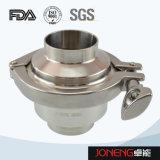 Tipo válvula de cheque higiénica (JN-NRV2001) del agua inoxidable del acero