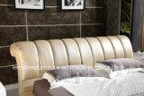 A571 جولة سرير أثاث غرفة نوم تصميم سرير الملك