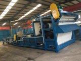 Filtre-presse de courroie pour l'élément de asséchage de cambouis municipal