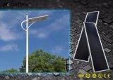 60watt 지적인 옥외 점화 LED 태양 정원 가로등