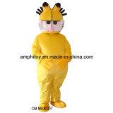 Traje de mascote do personagem de desenho animado Garfield