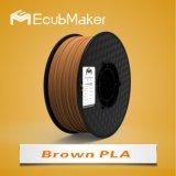 Профессиональные производители Ecubmaker 1,75 мм 1000g 3D PLA нити
