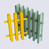Plástico reforzado con fibra de vidrio Rejilla Pultruded