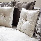 Sofà beige moderno del tessuto della mobilia 123 della casa di disegno