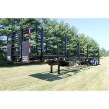Due rimorchio di legno di trasporto degli assi 40FT