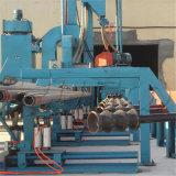 Macchina speciale di granigliatura per pulizia della parete esterna del tubo d'acciaio