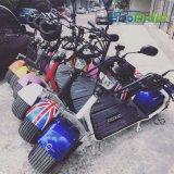 2018 scooter électrique de Citycoco de portée du scooter deux de Harley de modèle de roues neuves de la CEE 2