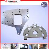 El trabajar a máquina del CNC del metal de hoja de acero inoxidable de la precisión