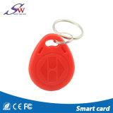 125kHz trousseau de clés d'ABS d'IDENTIFICATION RF de la puce Em4100