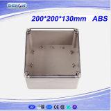 Caixa impermeável desobstruída 200X200X130mm da tampa IP66 ABS/PC Toyogiken