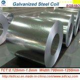 Les produits en acier de constructeur de la Chine/ont galvanisé la bobine en acier dans 0.125mm