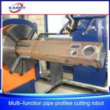 강철 건물 사각 또는 빈 단면도 둥근 관 /Rectangular 관 CNC 프레임 플라스마 절단 장비