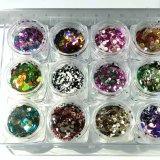 芸術の輝いたスパンコール、釘の芸術Sequnisの釘の装飾のための釘のスパンコールのきらめきをネイリングしなさい