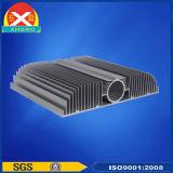 LED脱熱器はアルミ合金6063脱熱器工場の作った