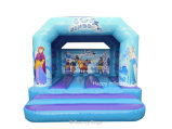 Abitudine fuori dei giochi gonfiabili della trasparenza del Bouncer dei giocattoli della regina della neve di sport per l'asilo
