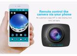 Rádio Android do Ios câmara de vídeo Omnidirectional da came de um esporte de 360 graus