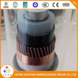 Напечатайте кабель на машинке электропитания кабеля 1X 185 mm2 Cu/XLPE/Cts/PVC 18/30 (36) Kv IEC60502armored N2xsy