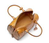 Populaires célèbre marque PU Sacs à main en cuir Boston Rhomboids Mesdames sac à main