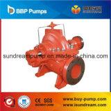 Pompe à eau centrifuge diesel et électrique de lutte contre l'incendie d'aspiration de fin de circulation
