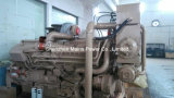 1600HP 1800rpm Cumminsディーゼル海洋エンジンのボートエンジンの手前側にあるモーター