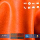 Eco-Friendly Stock Lote de couro de simulação, couro de PVC