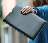 MacBook 주 책가방 클러치 가죽 여자 핸드백