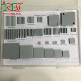 Cerámica de carburo de silicona para la disipación de calor electrónica de alta potencia