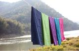 De Handdoek van de Yoga van Microfiber met Om het even welk Embleem van de Douane
