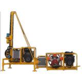 Piattaforma di produzione portatile del foro di scoppio della montagna dell'Expo di marzo con il compressore d'aria