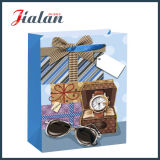 Дешевый сделанный мешок подарка оптовых продаж напечатанный логосом бумажный с веревочкой