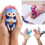 Обезьяна младенца горячих Fingerlings взаимодействующая, игрушка малышей детей обезьяны любимчика Fingerlings младенца электронная