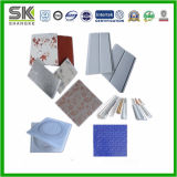 Tipos de perfil de PVC decorativos para pared (SKWP-AL)